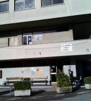 L'edificio colpito dai ladri