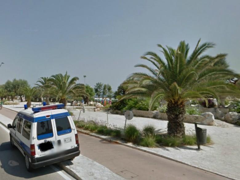 Lungomare di Porto d'Ascoli (foto tratta da Google Maps)