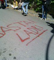 Manifestazione dipendenti Stella Maris 26 aprile