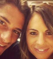 Mario Titone con Valentina, la sua ragazza