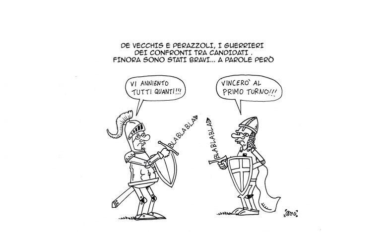 De Vecchis vs Perazzoli (Evo)
