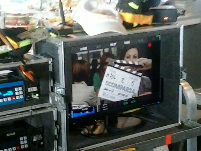 Sul set di Scomparsa