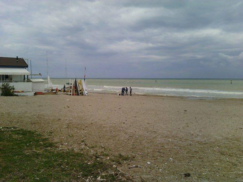Spiaggia, Grottammare (foto di repertorio)
