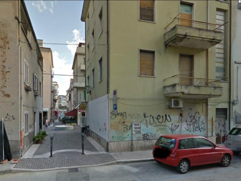 Area di via Montebello (foto tratta da Google Maps)