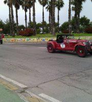 Auto d'epoca al confine tra Grottammare e San Benedetto, 20 maggio