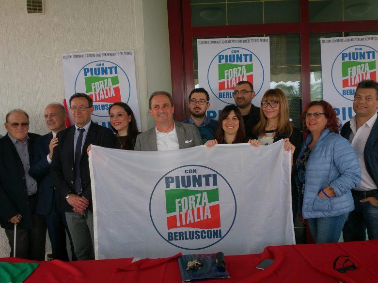 Forza Italia, Piunti con alcuni dei candidati