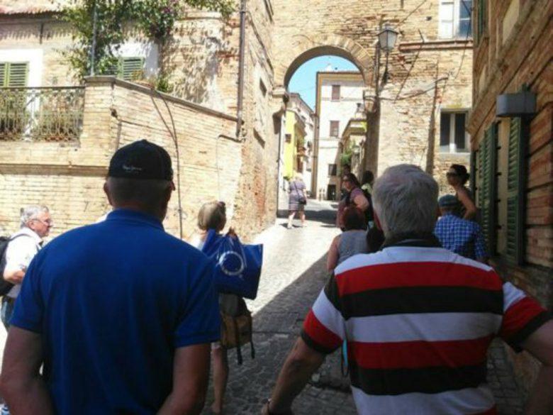 Delegazione in visita nel Piceno (foto Comune di San Benedetto)