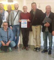 Foto di gruppo per i presidenti dei comitati di quartiere di San Benedetto