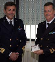Comandante Pappacena e Ammiraglio Ferrara a San Benedetto