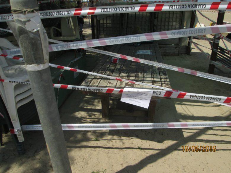 Controlli e sequestri (foto Capitaneria di Porto Sbt)
