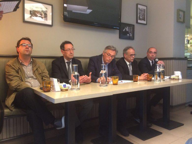 Luca Spadoni, Pasqualino Piunti, Paolo Perazzoli, Giorgio De Vecchis, Massimiliano Castagna