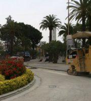 Pavimentazione in piazza Giorgini (foto Comune di San Benedetto del Tronto)