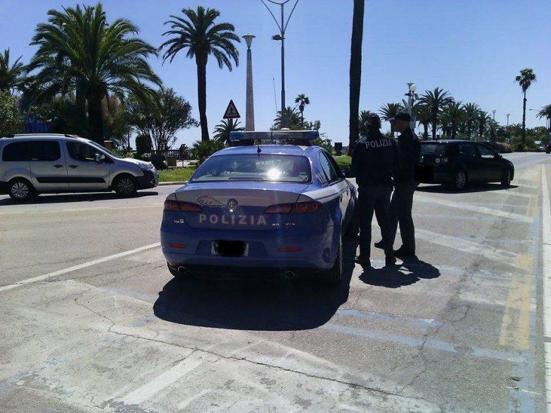 Polizia a San Benedetto (foto di repertorio)