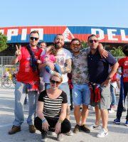 Festa promozione Samb, tifosi