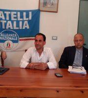 la conferenza di Fratelli D'Italia