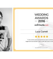 Luca Cameli premiato al Wedding Awards 2016