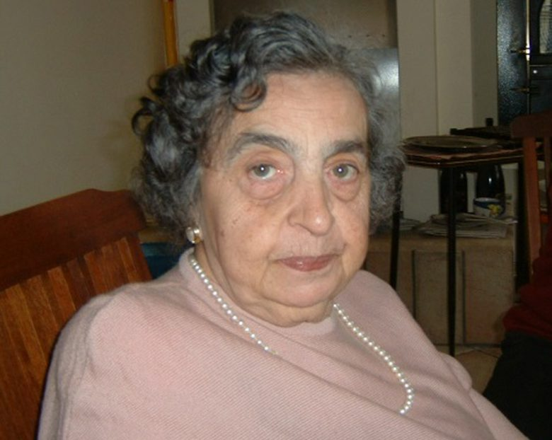 La maestra Franca Pulcini