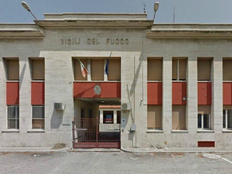 Caserma dei Vigili del Fuoco (foto tratta da Google Maps)