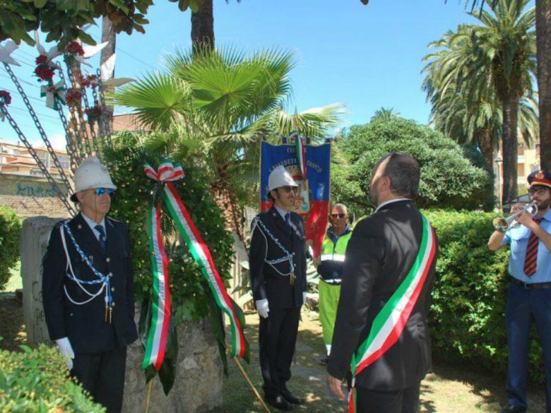 Cerimonia a San Benedetto (foto Comune di San Benedetto del Tronto)