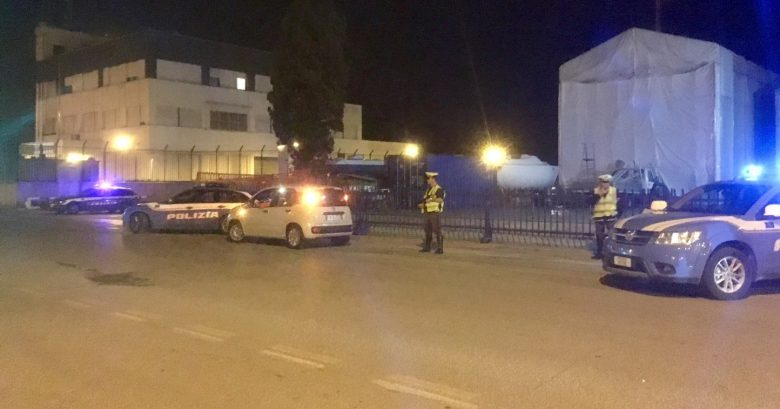 Controlli a San Benedetto, 12 giugno (foto Polizia Stradale di Ascoli Piceno)
