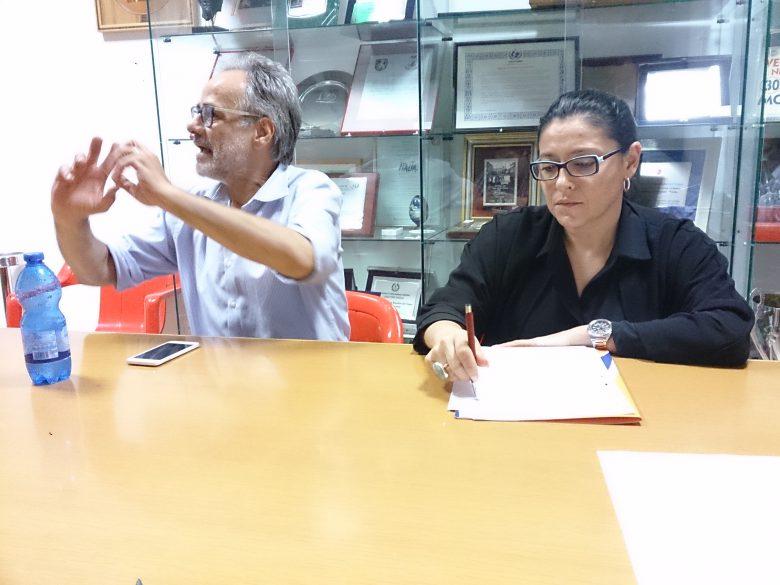 Giorgio De Vecchis e Barbara Sanavia