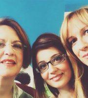 Fabrizia Talamonti, Arianna Natalini e Valentina Simonato