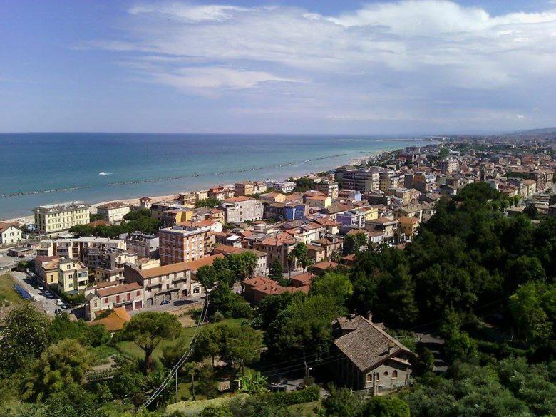 Grottammare vista dall'alto (foto Leonardo delle Noci)