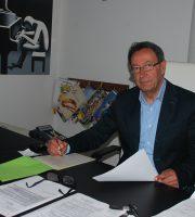Pasqualino Piunti al lavoro da sindaco