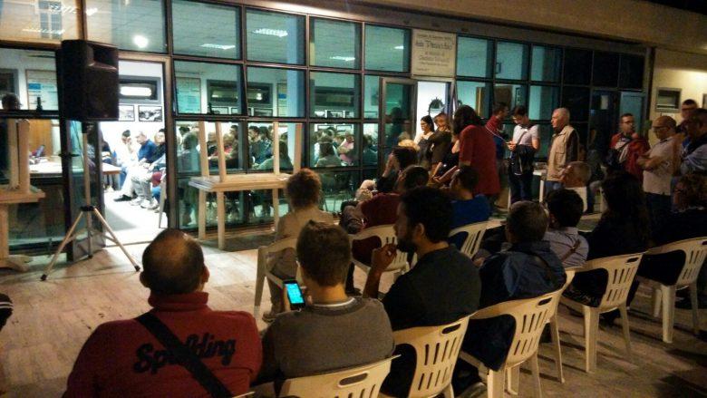 Quartiere Mare, tanta gente ad ascoltare Di Salvatore e Mei sulla modifica della Costituzione