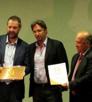 Fabio Urbinati, Sandro Assenti e il presidente CCIAA Sabatini