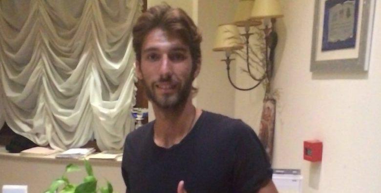 Leonardo Mancuso a Cascia - foto concessa dalla Sambenedettese calcio