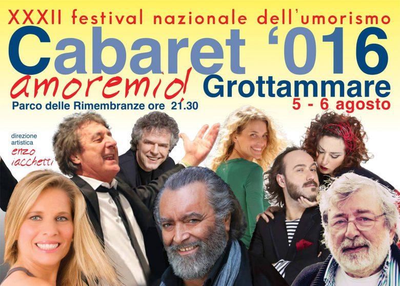 Cabaret Amore Mio 2016