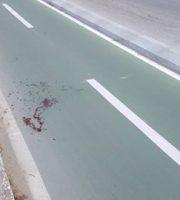 Il punto dove Elio Scardecchia è rimasto gravemente ferito
