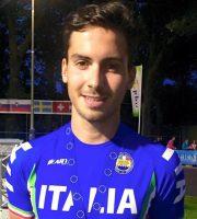 Riccardo Bugari (foto della Federazione Italiana Hockey e Pattinaggio)