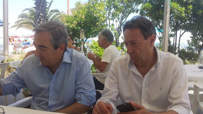 Piunti e Gasparri a pranzo oggi a San Benedetto