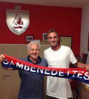 Franco Fedeli con il neo acquisto Christian Tavanti