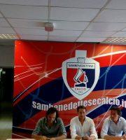 Conferenza allo stadio Riviera delle Palme, 22 luglio