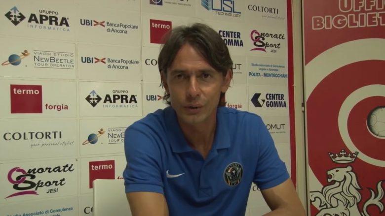 Filippo Inzaghi, allenatore del Venezia (foto tratta dalla pagina Facebook Venezia Fc)
