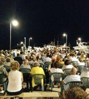Folla per Cacciari al Circolo Nautico