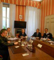 Incontro in Prefettura ad Ascoli (foto rilasciata dal sito del Prefetto di Ascoli)