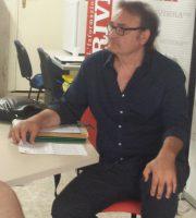Peppe Giorgini nella nostra redazione