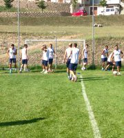 Samb a Cascia (foto tratta dalla pagina Facebook Sambenedettese Calcio)