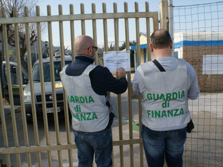 Sequestro (foto Gdf di Ancona)