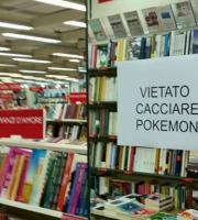 Vietato cacciare Pokemon (foto tratta dalla pagina Fb San Benedetto del Tronto)