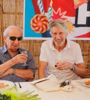 Harry Shindler e Roger Waters, 16 luglio