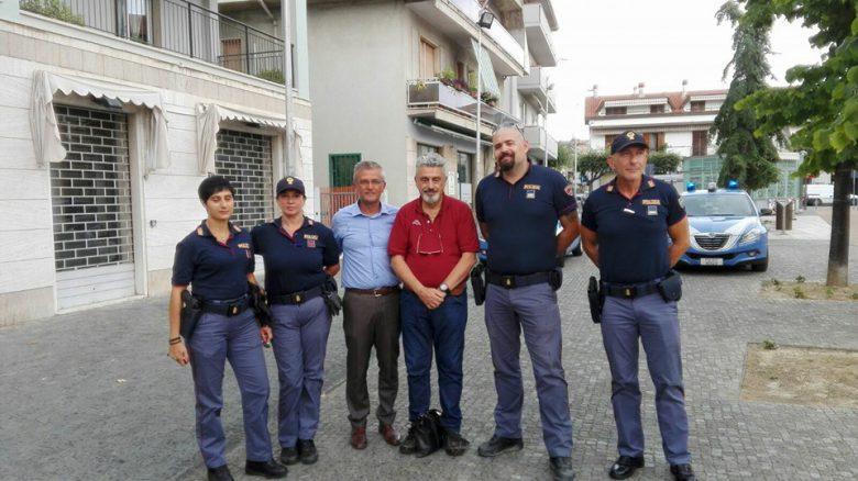 presidio di polizia estivo a Martinsicuro