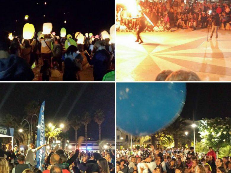 La Notte dei Desideri (foto tratta dalla pagina Facebook Città di San Benedetto del Tronto)