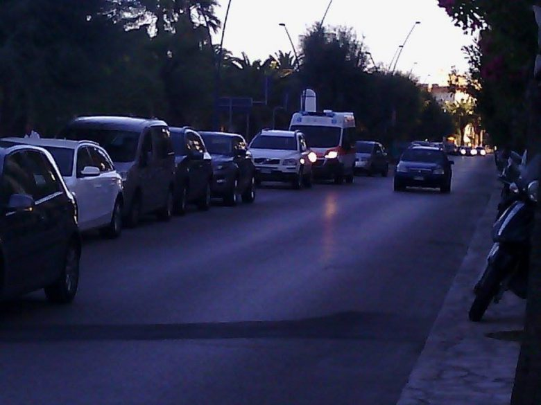 Ambulanza a Porto d'Ascoli, 12 agosto