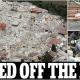 Il terremoto riempie anche le prime pagine internazionali. Il Daily Mail titola