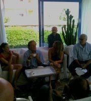Conferenza all'Hotel Roma di Grottammare, 5 agosto